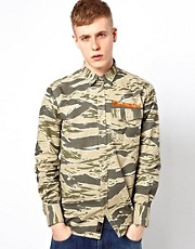 MHI By Maharishi Shirt Tigerstripe Camo