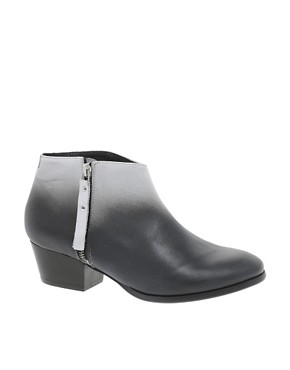 Image 1 ofMiista Kia Heeled Zip Ankle Boots