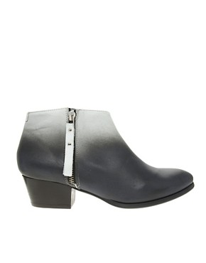 Image 4 ofMiista Kia Heeled Zip Ankle Boots
