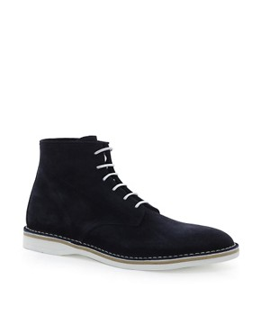 Image 1 ofHUGO by Hugo Boss Destio Suede Boots