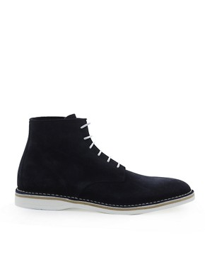 Image 4 ofHUGO by Hugo Boss Destio Suede Boots
