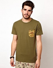 Penfield - T-shirt con tasca a contrasto