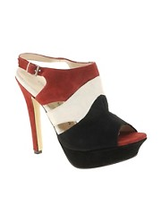 Chinese Laundry Chain Reaction Suede Heeled Sandal