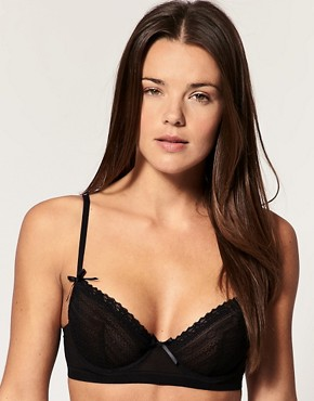 ASOS AMELIE Wallpaper Lace Longline Bra