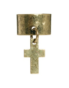 Image 3 ofJust Acces Three Pack Of Cross Ear Cuffs