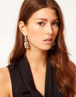 Image 2 ofBibi Bijoux Charm Drop Earrings