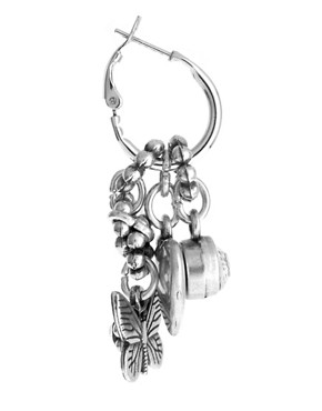 Image 3 ofBibi Bijoux Charm Drop Earrings