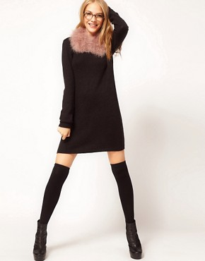 Image 2 ofASOS  Marabou Collar
