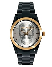 Zadig &amp; Voltaire Black Skull Watch