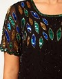 Image 3 ofASOS CURVE Dress With All Over Embellishment