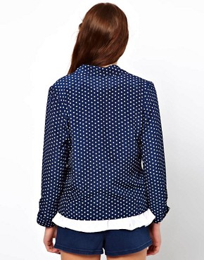 Image 2 ofA Wear Dot Print Blazer