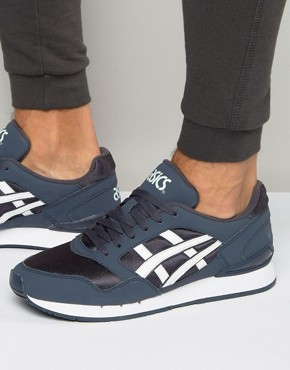 Asics Gel-Atlantis Trainers In Blue H6G0N 5001