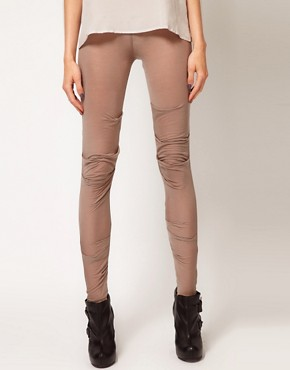 Image 4 ofJNBY Draped Leggings