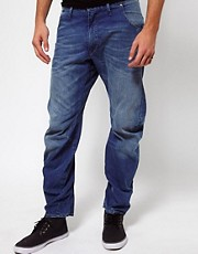 G Star - Arc 3D - Jeans stretti in fondo