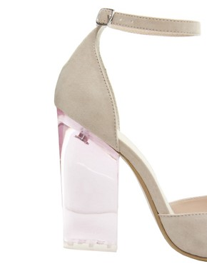 Image 2 ofASOS PRAYER Pointed High Heels