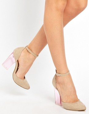 Image 3 ofASOS PRAYER Pointed High Heels