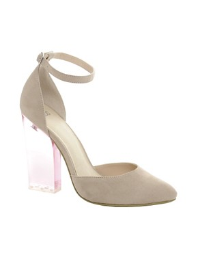 Image 1 ofASOS PRAYER Pointed High Heels