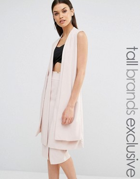Naanaa Tall Sleeveless Blazer Co-Ord