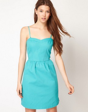 Image 1 ofVila Fit And Flare Dress