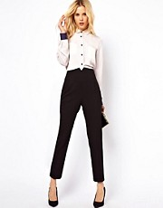ASOS High Waist Evening Trousers