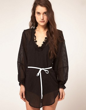 Image 1 ofKore by Sophia Kokosalaki Self Stripe Star Tunic