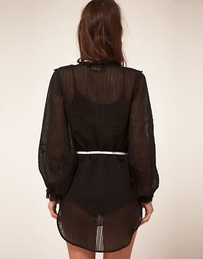 Image 2 of Kore by Sophia Kokosalaki Self Stripe Star Tunic