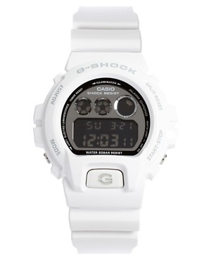 Image 1 ofCasio G-Shock DW-6900NB-7ER White Digital Watch