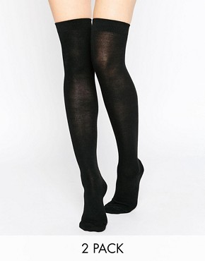 Gipsy 2 Pack Over The Knee Socks