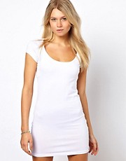 Vila Bodycon Dress with Short Sleeve