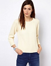 BZR Cotton Knitted Ribbed Jumper