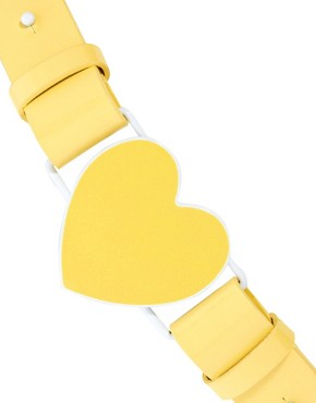 Image 2 ofASOS Heart Shape Buckle Belt