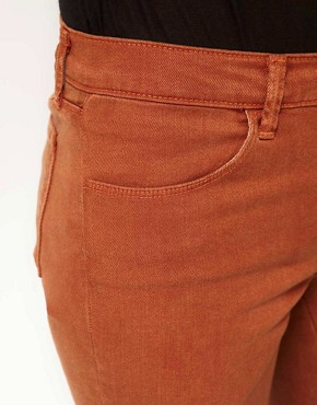 Image 3 ofJ Brand 620 Mid Rise Skinny In Tencel Bourbon