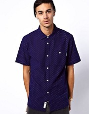 Undefeated Shirt Short Sleeve Dot Print