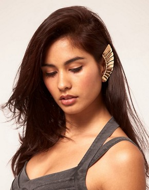 Image 1 ofASOS Statement Warrior Earcuff