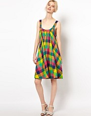 YMC Madras Check Sundress