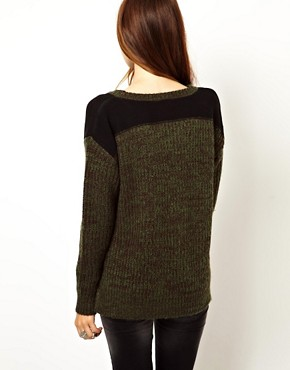 Image 2 ofASOS Army Jumper