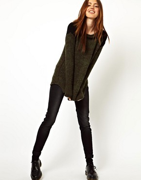 Image 4 ofASOS Army Jumper