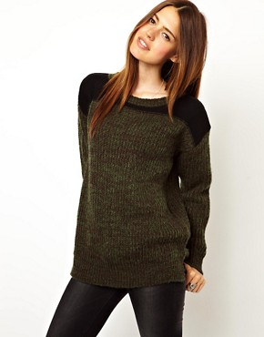 Image 1 ofASOS Army Jumper
