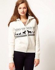 Brat &amp; Suzie Polar Bear Hoodie