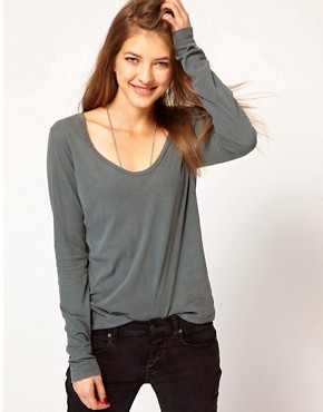 Image 1 ofJames Perse Long Sleeve Casual Tee