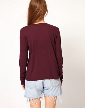 Image 2 ofJames Perse Long Sleeve Casual Tee