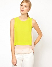 Whistles Colour Block Vest Top