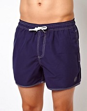 Native Youth – Badeshorts in Marineblau
