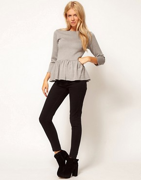 Image 4 ofASOS Peplum Jumper