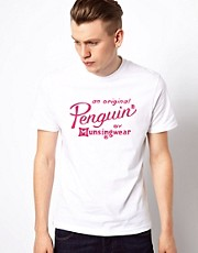 Original Penguin T-Shirt with Script Logo