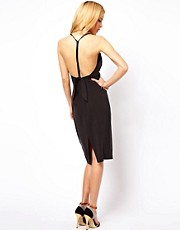 ASOS Bow Back Sexy Midi Dress