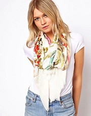 Ted Baker Floral Print Long Scarf
