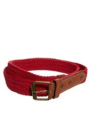 ASOS Plaited Webbing Belt