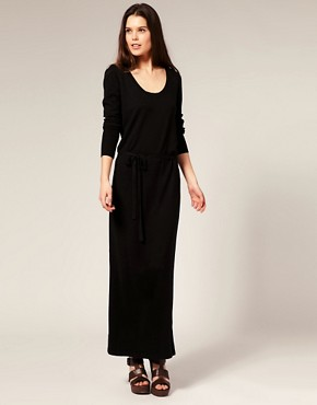 Image 1 ofOasis Knitted Maxi Dress