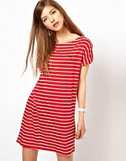 Fred Perry Breton Stripe Jersey Dress
